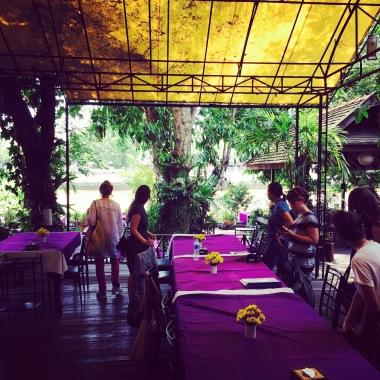 A Garden Scene: Chiang Mai