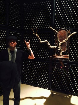 A Very Metal Wall of Wine