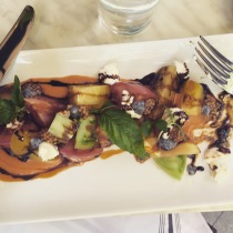 Oliver Royale's Heirloom Tomato & Ricotta Salad
